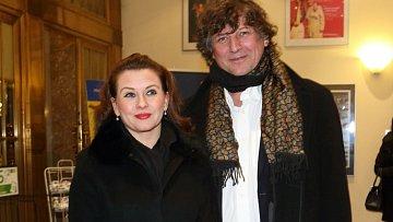Dana Morávková s Petrem Maláskem