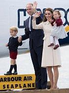Kate a William s dětmi.