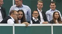 Jejím partnerem je již čtyři roky miliardář Daniel Křetínský.