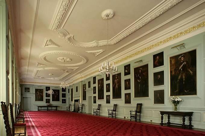 Velká galerie v Holyroodském paláci