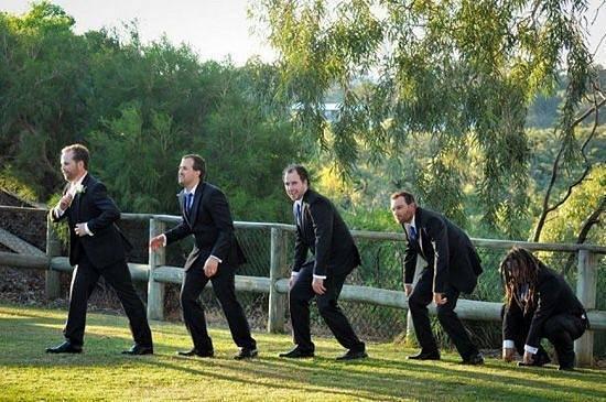 Někdy to na svatbách vypadá jinak, než by mělo.