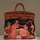 Kim K dostala od manžela tuto ohavnou kabelku značky Birkin za $40 000