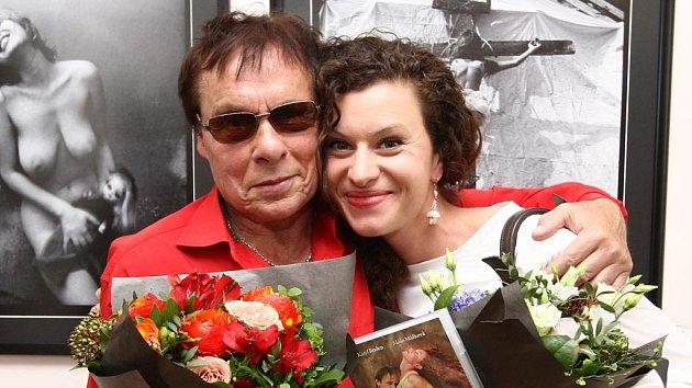 Máša Málková a Jan Saudek