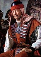 Jako mongolský vojevůdce ve filmu Dobyvatel (1956)