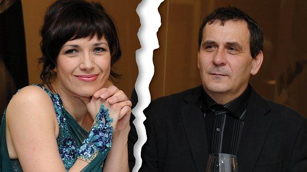 Tereza Kostková a Petr Kracik už nejsou manželé.