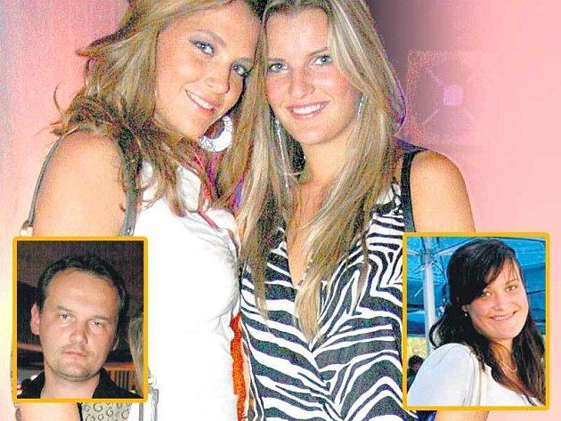 Miss ČR 2007 Kateřina Sokolová a druhá vicemiss Veronika Chmelířová vyvedly sourozence.
