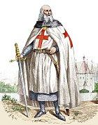 Jacques de Molay stál včele mocného ahlavně bohatého řádu. To se mu stalo osudným.