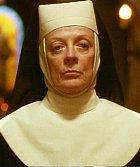 Matka představená je dáma v letech a představená kláštera. Myslí jen na dobro svých svěřenkyň a ačkoli jí záleží na tom, aby se Deloris alias Marii Clarence, nic zlého nestalo, její postupy ohledně sboru neschvaluje. Jsou pro ni až moc inovátorské.