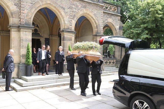 Pohřeb Ladislava Potměšila se na jeho přání uskutečnil pouze v úzkém rodinném kruhu.