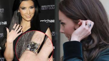 Největší snubní prsteny celebrit! Která vyhrála manželskou loterii?