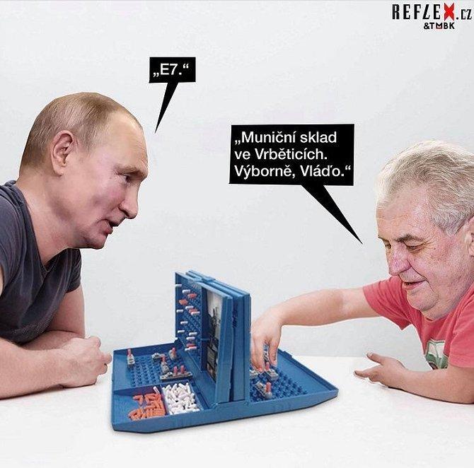 Miloš Zeman se svým dobrým vztahem k Rusku netají.