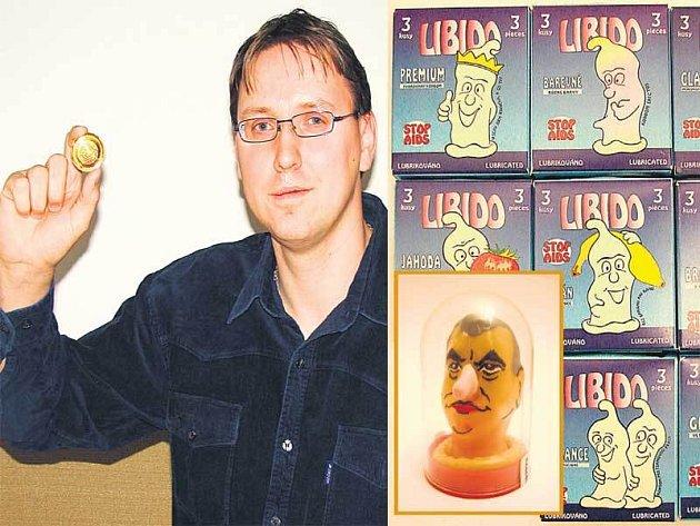 Zdeněk Crha z Tišnova patří mezi tři registrované sběratele obalů prezervativů u nás.