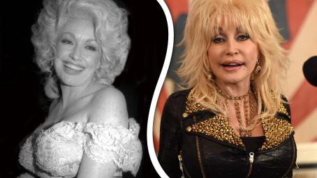 Dolly Parton v průběhu let