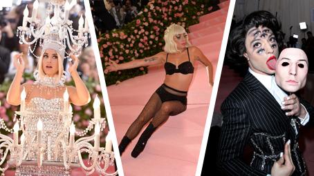 Met Gala v kostce: Nejdivnější modely a striptýz Lady Gaga