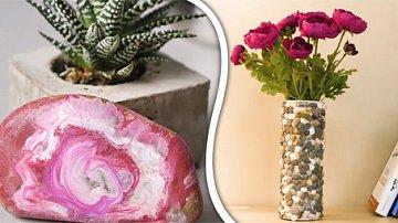 Z kamenů se dá udělat spoustu kreativních věcí.