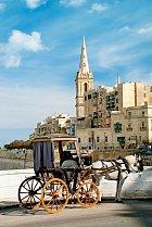 V hustě osídlené Vallettě najdete spousty památek.