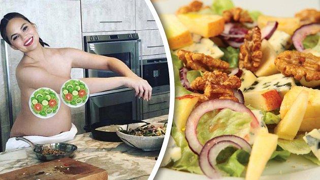 Lahodný salát podle modelky Chrissy Teigen osloví každého, kdo má rád dobré jídlo.