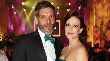 Andrea Kerestešová s manželem Mikulášem Růžíčkou.