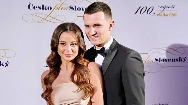Monika Bagárová a Dávid Hodek