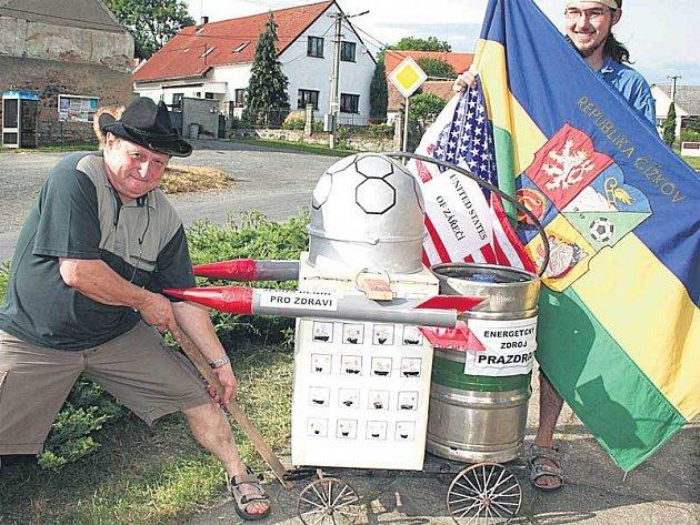 Recesisté z Čížkova na Plzeňsku stěhují radar do jižních Čech.
