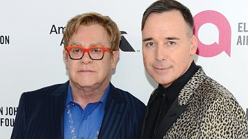 Elton John se svým manželem Davidem Furnishem.