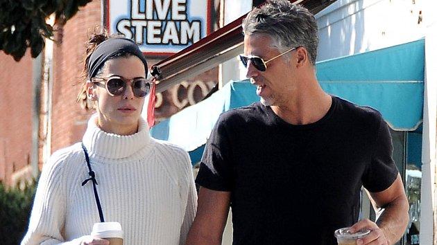 Sandra Bullocková a Bryan Randall