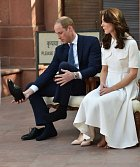 Kate s Williamem při návštěvě Indie