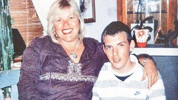 Melanie s milovaným synem Matthewem.