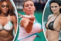 Některé sportovkyně se mohou chlubit vážně velkým poprsím.