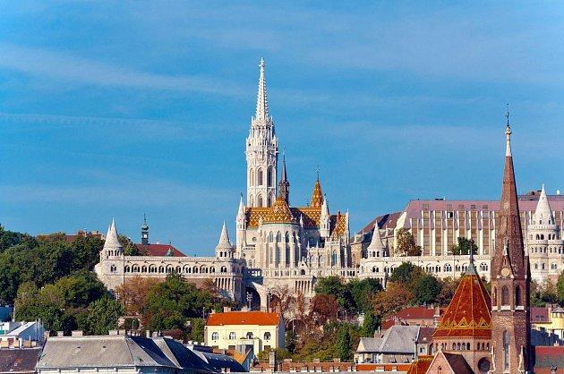 VBudapešti je spoustu krásných míst kvidění.