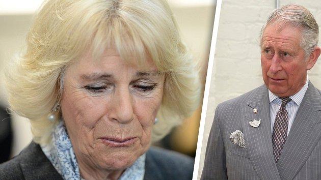 Camilla neudržela své slzy...