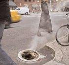 Jedno ranní espresso.