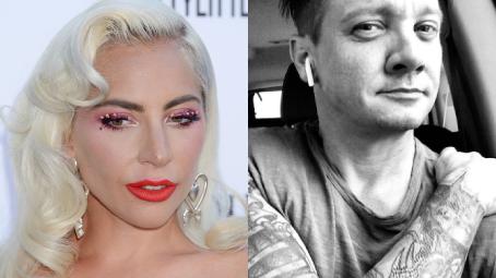 Lady Gaga a Jeremy Renner