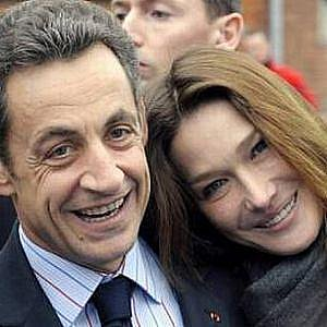 Nicolas Sarkozi s manželkou, Carlou Bruni, první dámou Francie