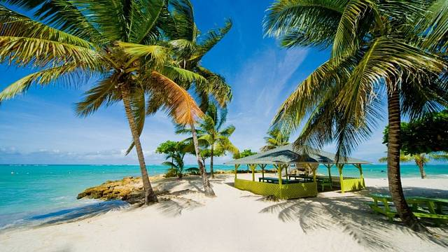 Karibik, jeden z daňových rájů