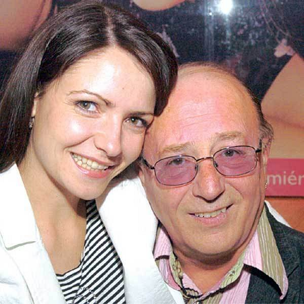 Petr Janda s manželkou Alicí