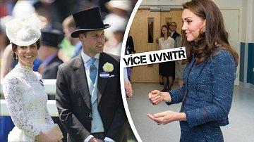 Kate Middleton si v těhotenství vytrpí své...