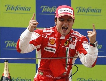 Všechny vás mám na háku, radoval se Massa.