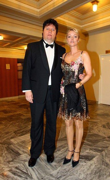 Dominika Gottová poslední roky přibrala, stejně jako její manžel Tolkki.