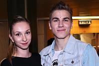 David Gránský s přítelkyní