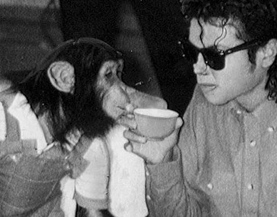 Michael Jackson měl skvělou opici jménem Bubbles