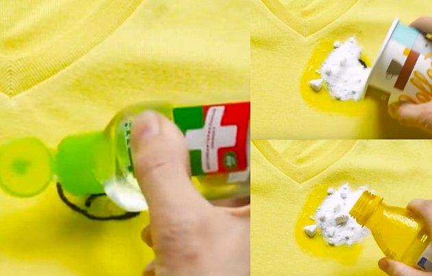 Návod jak vyčistit jakýkoli materiál.