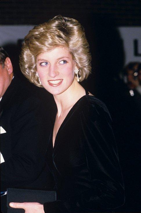 Princezna Diana byla obdivována pro svou krásu.