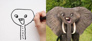 Uhádnete, co ty kresby znázorňují?