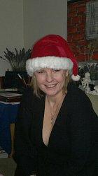Na zpěvačce je evidentní, že miluje Vánoce.