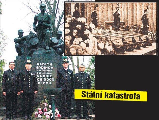 Památník důlního neštěstí.
