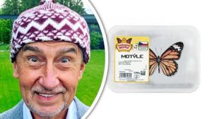 """Babišův """"motýle"""" boří internet. Podívejte se na ty nejvtipnější obrázky"""