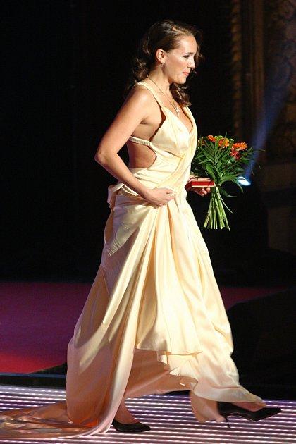 Odvážný model Lucie Vondráčkové