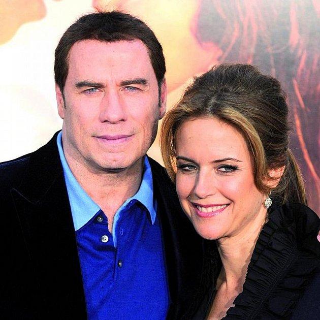 John Travolta a Kelly Preston.