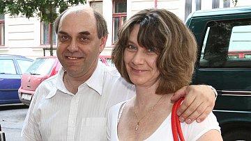 Miroslav Táborský s manželkou